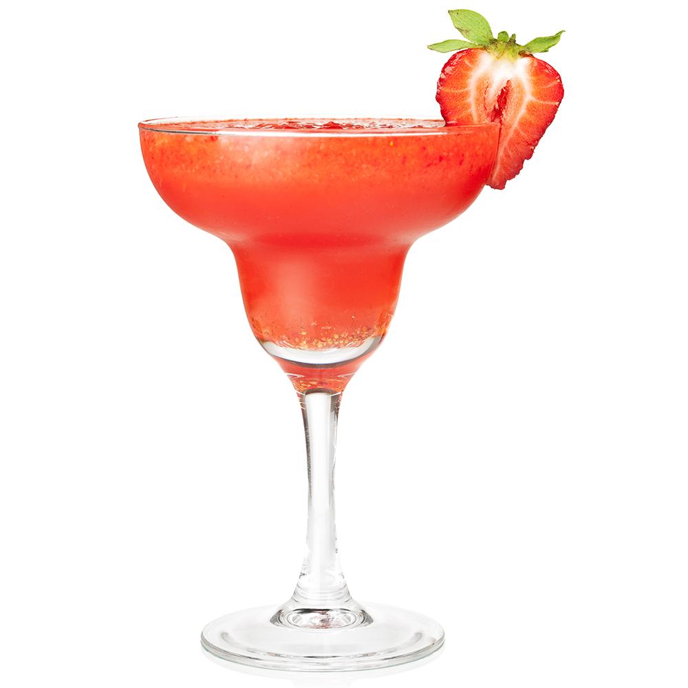The classic frozen strawberry daiquiri recipe dishmaps for Cocktail margarita
