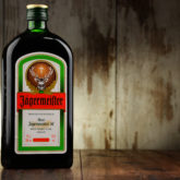 Bottle Of Jagermeister Herbal Liqueur.